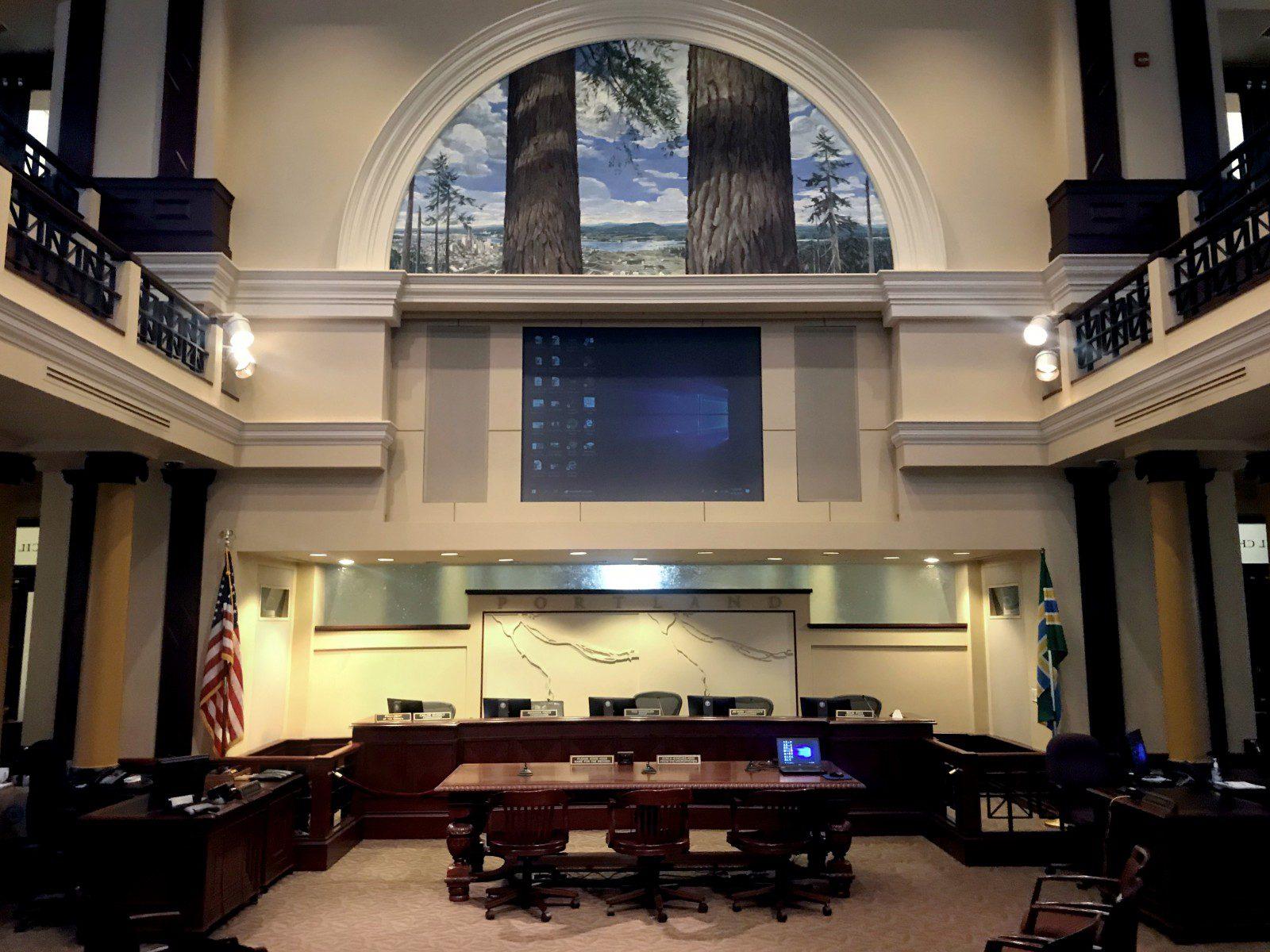 Portland City Hall Council Chambers AV Systems Master Plan_main